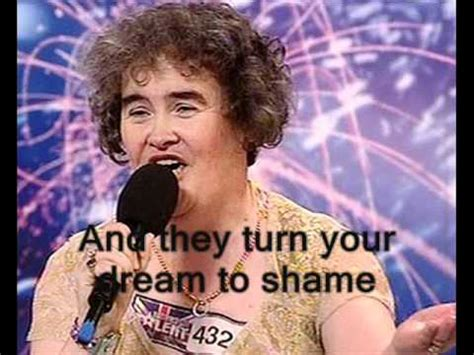 Susan Boyle-I dreamed a dream-first performance with
