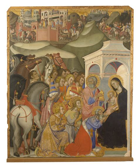 Reunited Components of 14th-Century Sienese Altarpiece