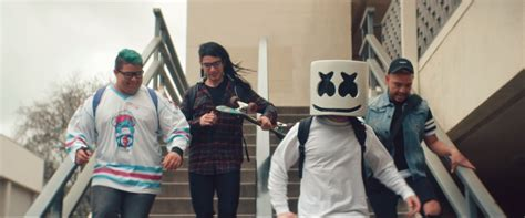 Marshmello's Releases Moving On Music Video Featuring